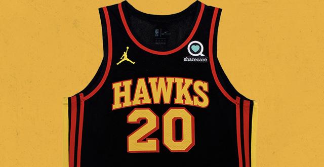 Les sponsors maillots de la saison NBA 2020
