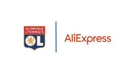 Aliexpress, nouveau sponsor de l'Olympique Lyonnais